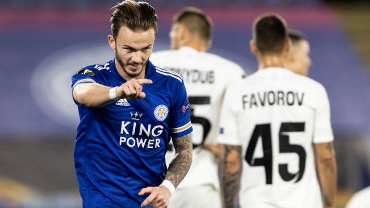 Лестер – Заря: онлайн-трансляция матча Лиги Европы – как это было