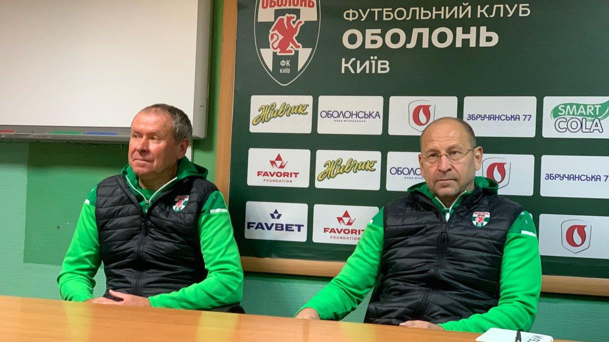 Яковенко поділився враженнями від роботи в Оболоні