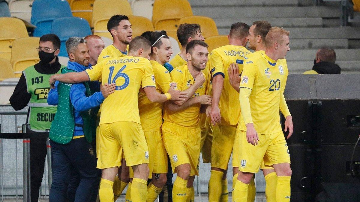 Отбор к ЧМ-2022: сборная Украины узнала дату жеребьевки