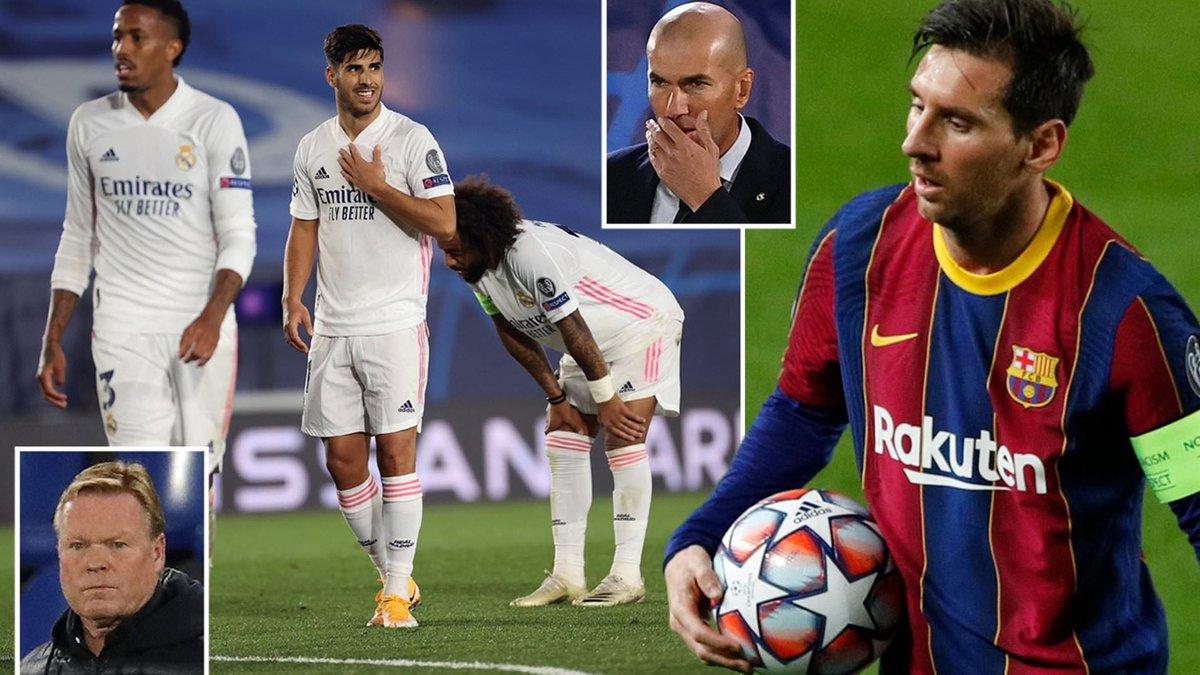 Барселона – Реал: онлайн-трансляция матча Примеры – Лунин на первом Класико