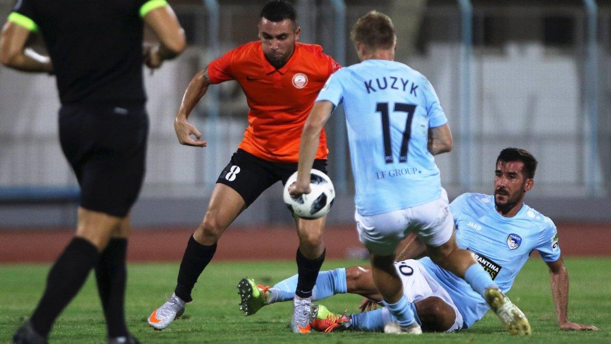 Михайленко дебютував з розгромної перемоги на чолі Пафоса – Кузик відзначився голом