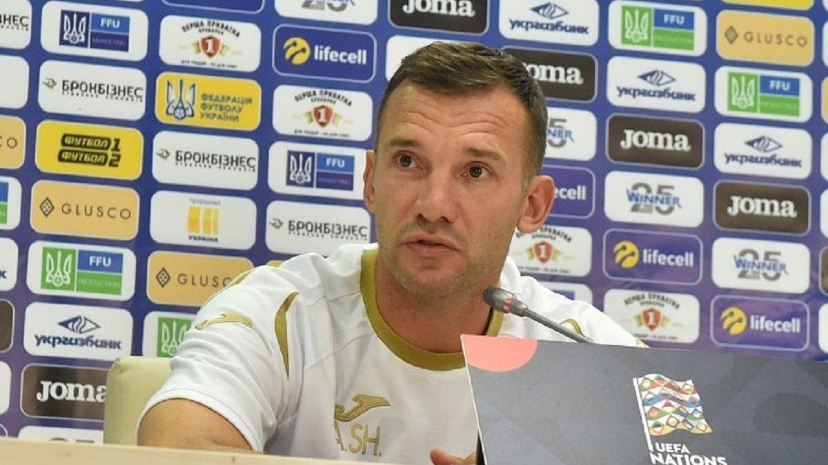 Шевченко объявил расширенный список на ноябрьские матчи сборной Украины – первый вызов героя Мадрида
