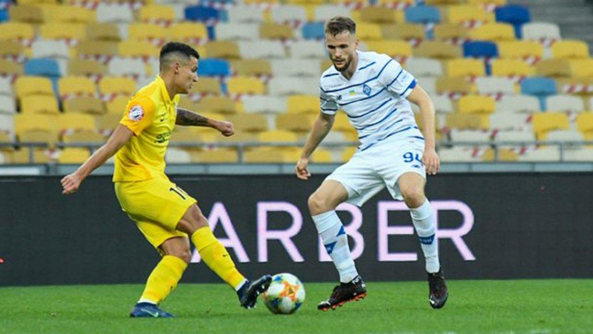Кендзьора відверто оцінив рівень Динамо після приходу в команду Луческу