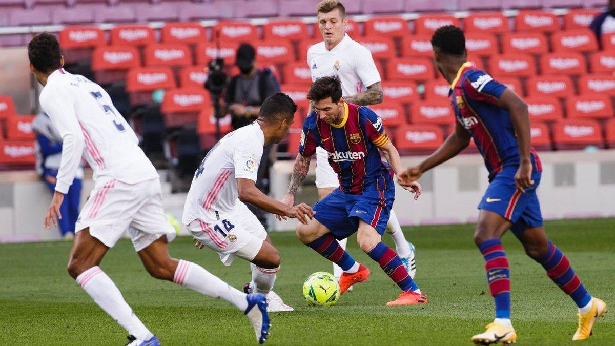 Барселона – Реал: Месси продолжил провальную серию в Эль Класико после ухода Роналду из Мадрида