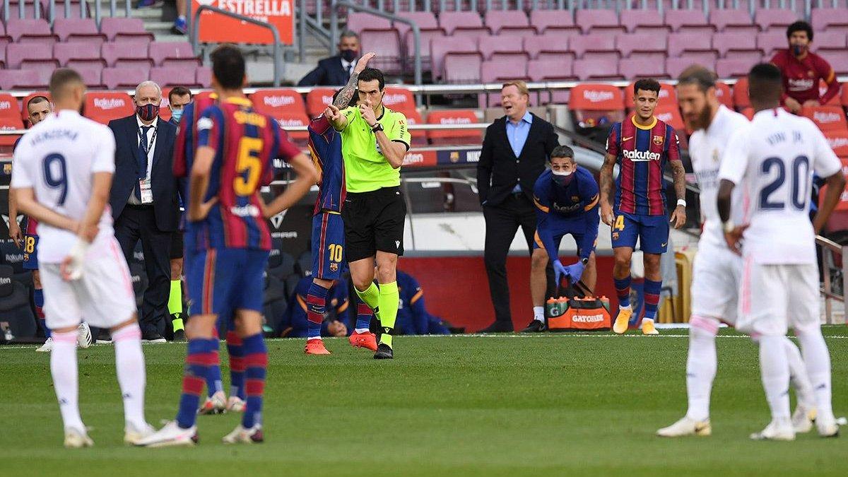 Барселона – Реал: каталонці офіційно поскаржились на арбітра Класіко
