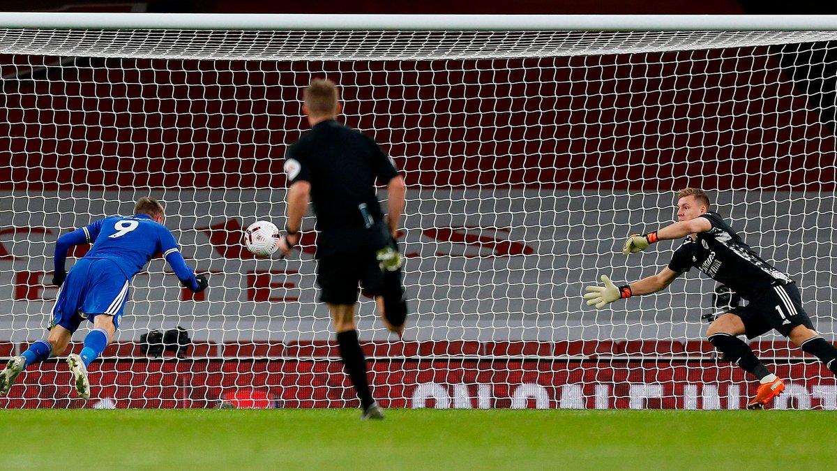 Варді посів друге місце у рейтингу кривдників Арсенала – лідером залишається легенда Манчестер Юнайтед
