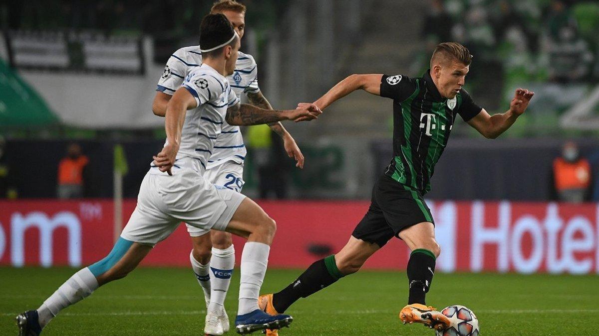 Ференцварош – Динамо – 2:2 – відео голів і огляд матчу