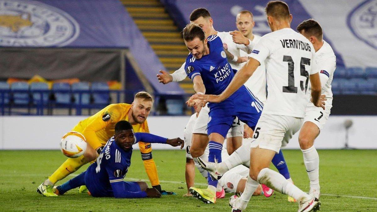 Метревелі назвав головного винуватця поразки Зорі у матчі проти Лестера