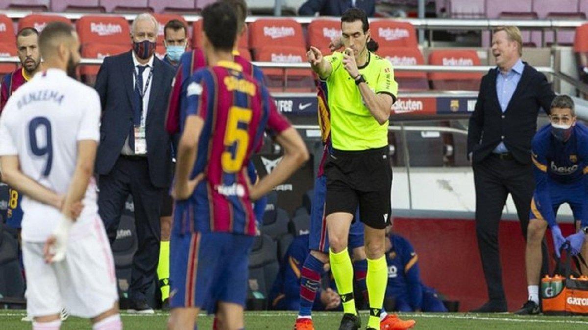 Барселона – Реал: каталонці отримали сенсаційний доказ упередженості арбітра в епізоді з пенальті