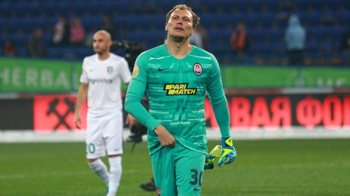Пятов может завершить футбольную карьеру после Евро-2020