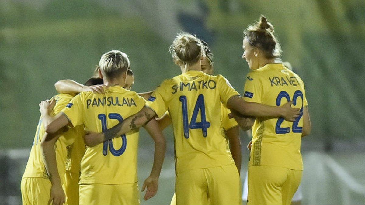 Україна розгромила збірну Греції у кваліфікації до жіночого Євро-2022