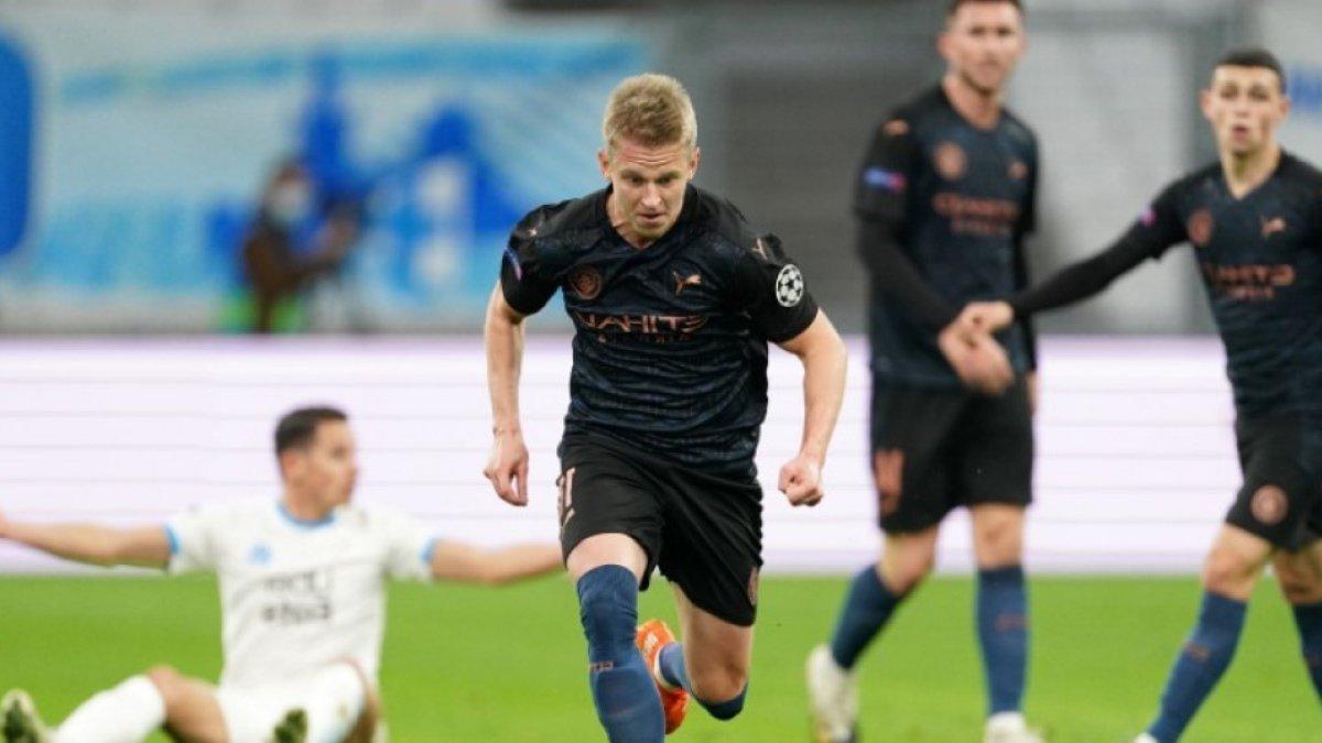 Дебют Зінченка у цьогорічній Лізі чемпіонів у відеоогляді матчу Марсель – Манчестер Сіті – 0:3