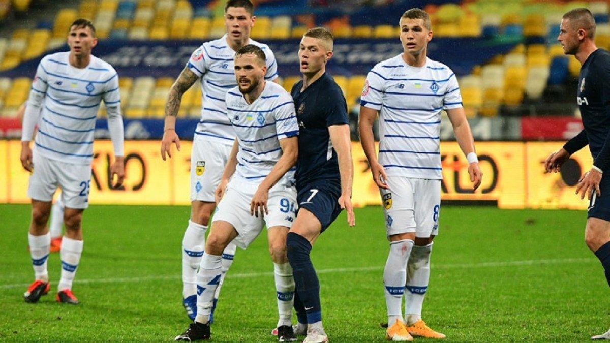 СК Дніпро-1 – Динамо – 1:2 – відео голів та огляд матчу