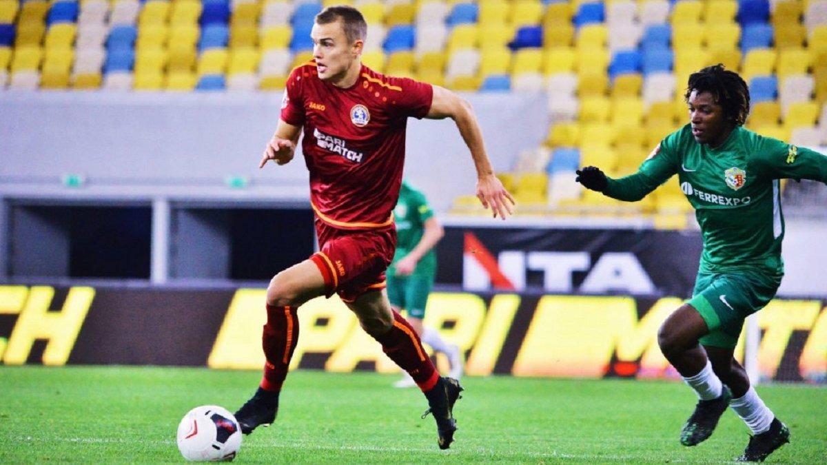 Первое поражение Ворсклы в сезоне с незабитым пенальти на 99-й минуте в видеообзоре матча против Львова