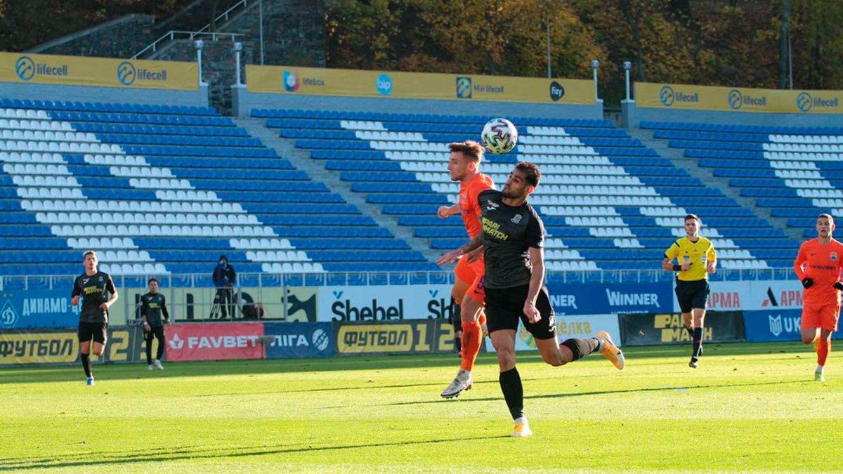 Олимпик в компенсированное время спас ничью с Мариуполем – команды забили шесть голов