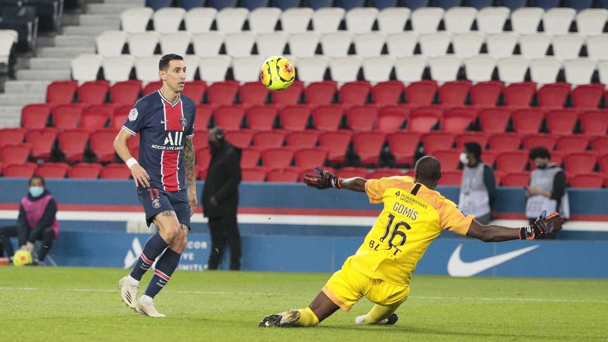Лига 1: ПСЖ с ярким перфомансом Ди Марии разбил Ренн, Монпелье переиграл Бордо