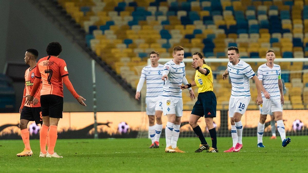 Динамо повторило власний антирекорд у матчах з Шахтарем