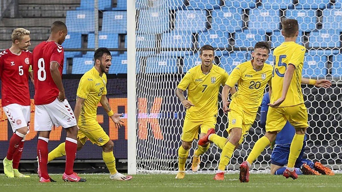 Украина U-21 разгромила Мальту U-21 благодаря дебютным голам Кухаревича, Милованова и Шевцова