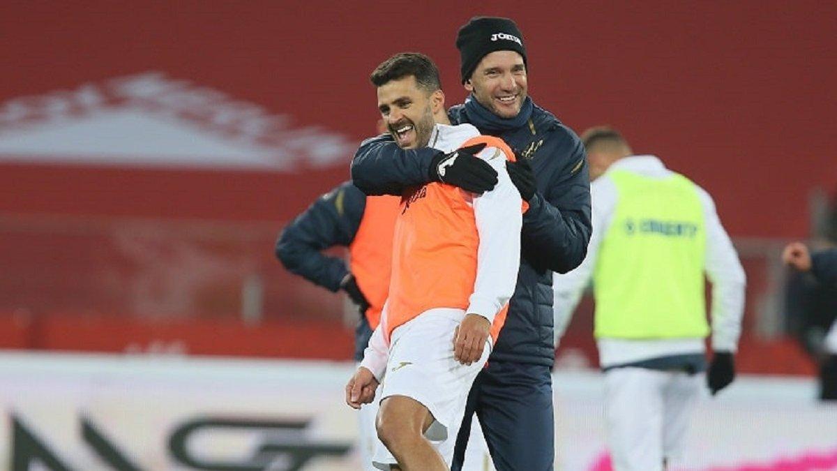 Польша – Украина: подопечные Шевченко провели предматчевую тренировку