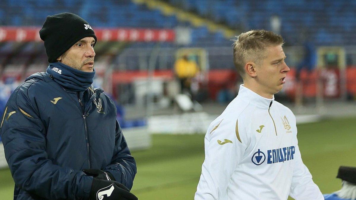 Зінченко відзначив прогрес збірної України на прикладі Європи