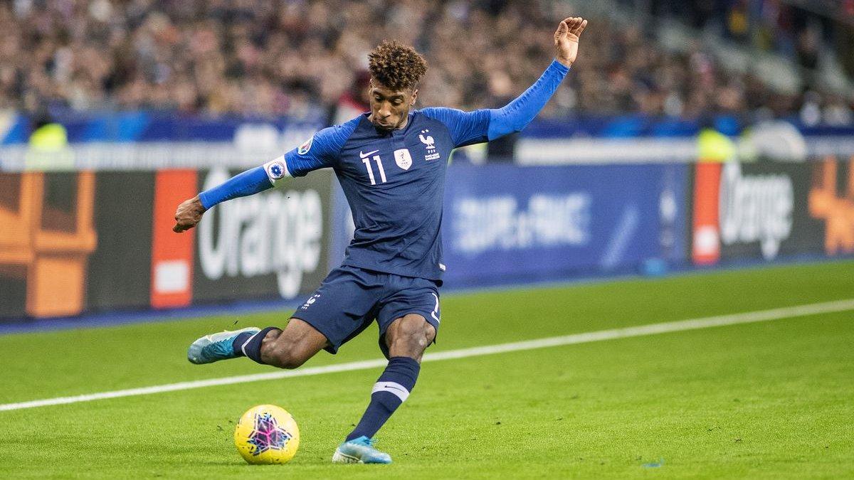 Коман зазнав пошкодження на тренуванні збірної Франції