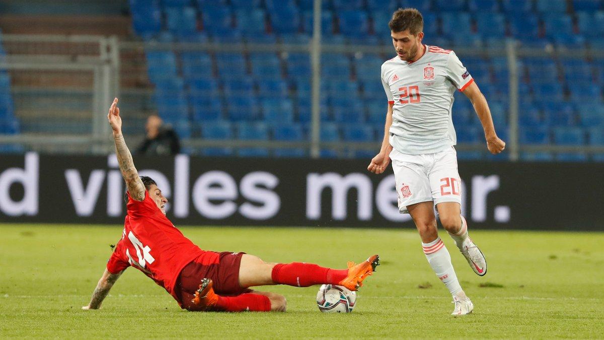 Швейцария – Испания – 1:1 – видео голов и обзор матча