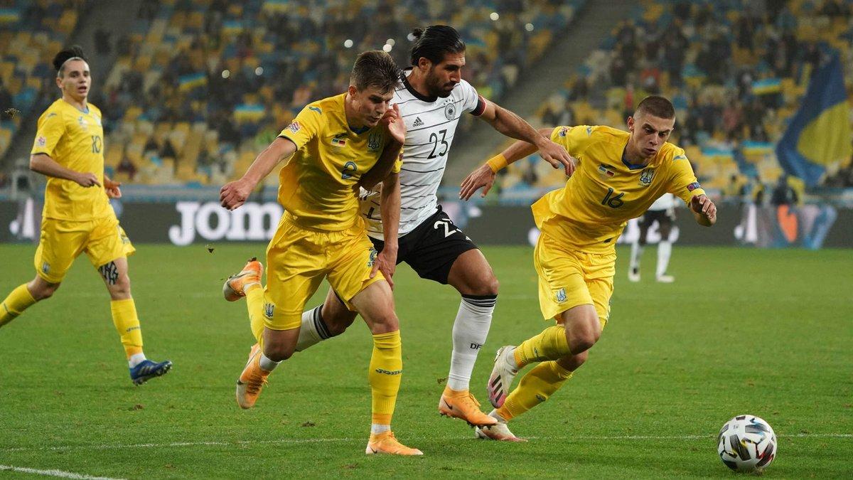 Німеччина – Україна: де дивитися матч Ліги націй
