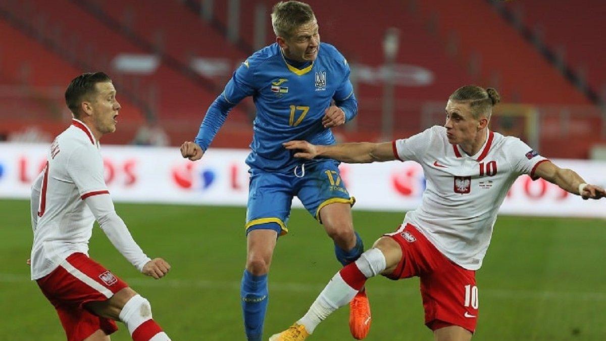 Польша – Украина: Демьяненко назвал трех игроков, которых не хватило команде Шевченко