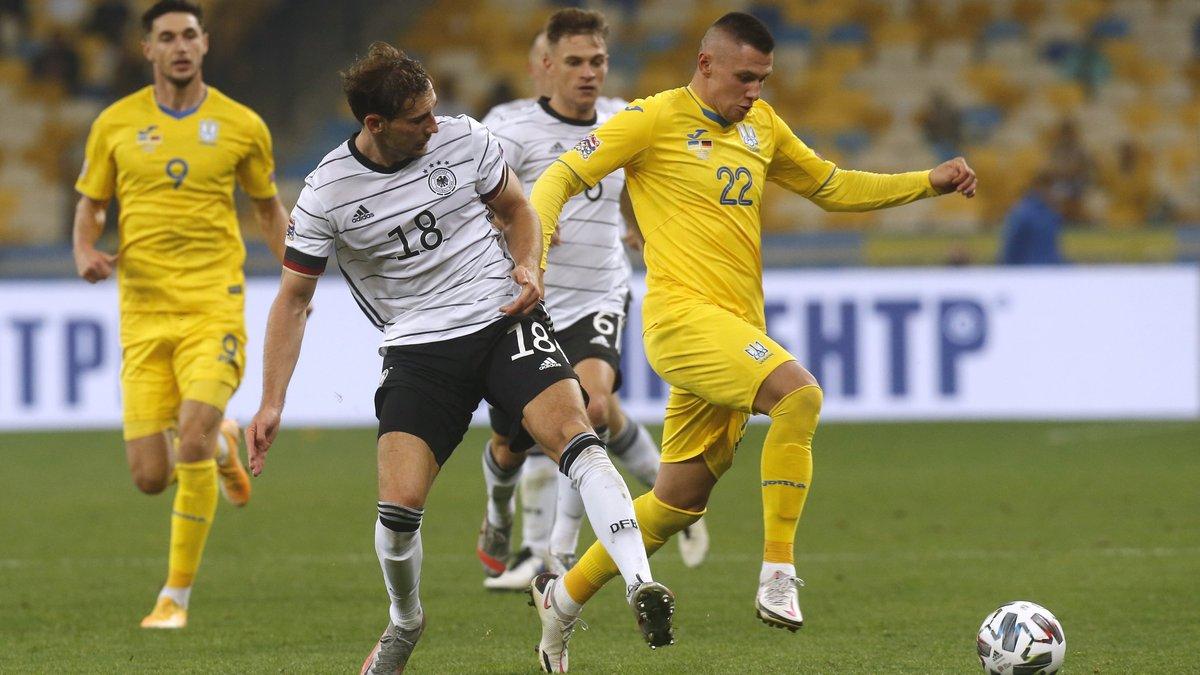 Германия – Украина: прогноз на матч Лиги наций