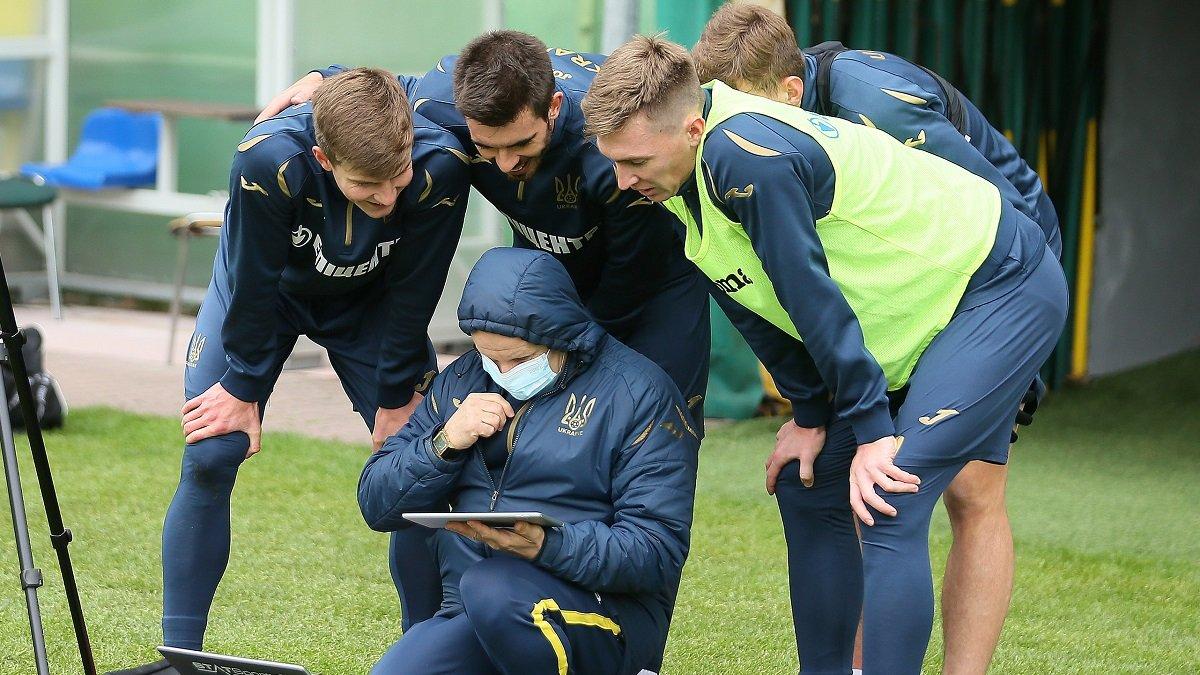 Німеччина – Україна: команда Шевченка провела завершальне тренування перед вильотом у Лейпциг