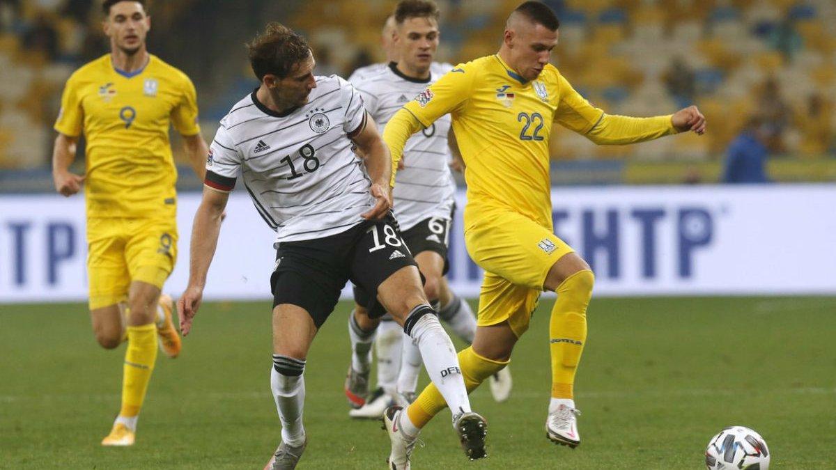 Германия – Украина: онлайн-трансляция матча Лиги наций – как это было