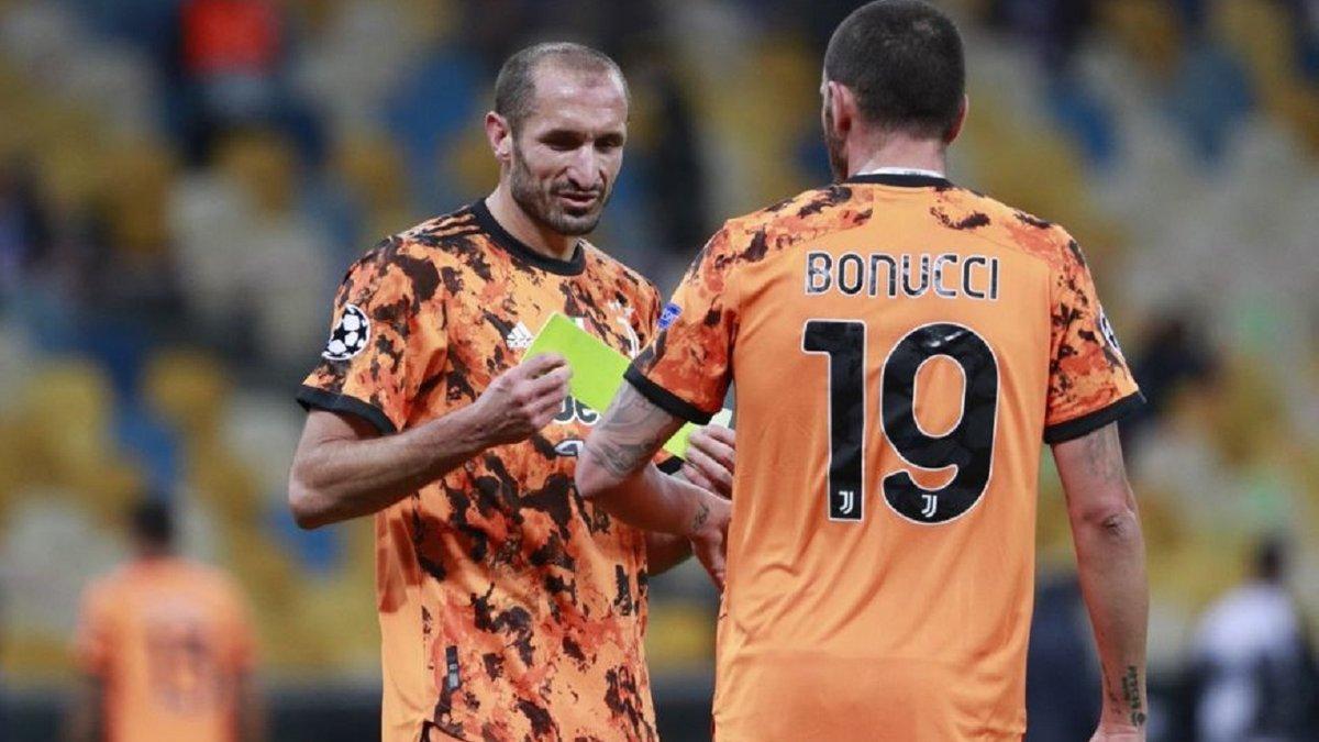 К'єлліні не допоможе Ювентусу у матчі проти Динамо