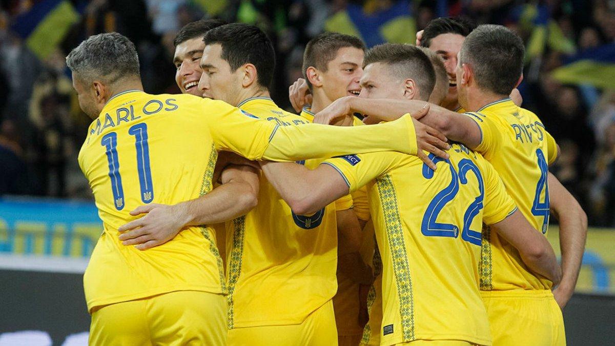 Евро-2020: календарь матчей сборной Украины в групповом турнире