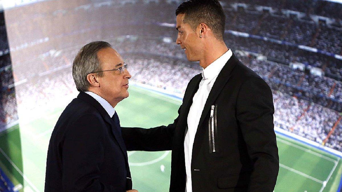 Реал получил предложение вернуть Роналду – Перес хочет видеть португальца в Мадриде, но в другом амплуа