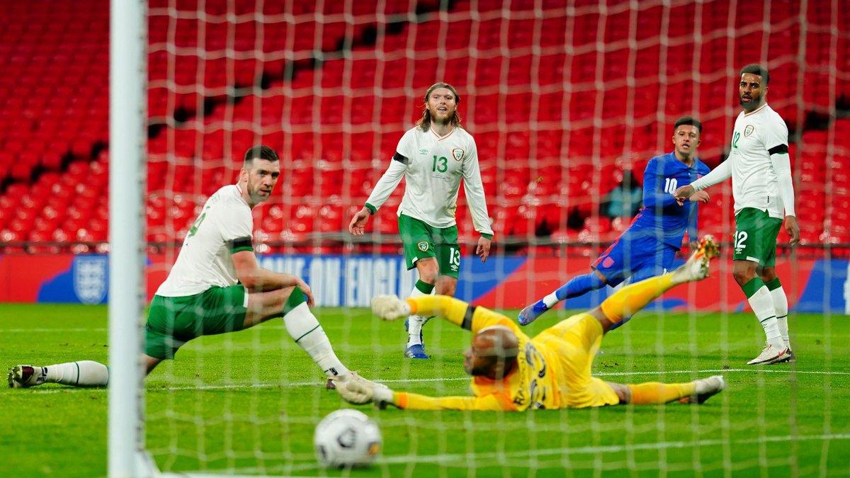 Англія розгромила збірну Ірландії, США та Уельс сильнішого не визначили