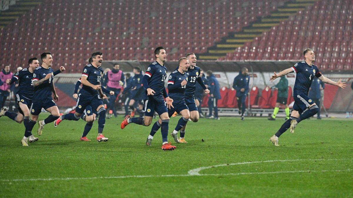 Сербия – Шотландия – 1:1 (4:5 пен.) – видео голов и обзор битвы за Евро-2020