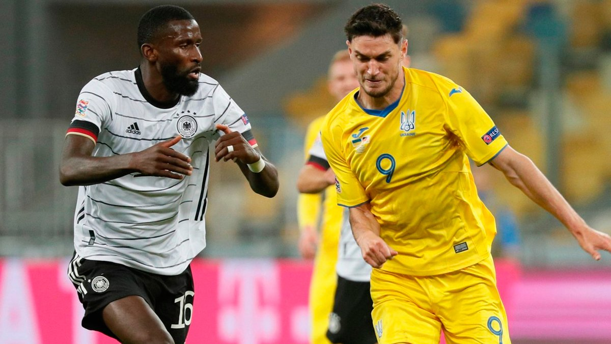 Германия – Украина: анонс матча Лиги наций