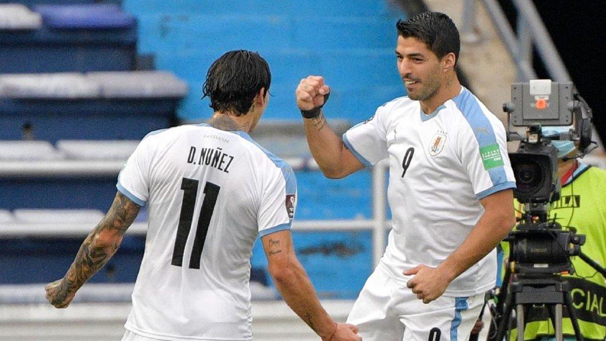Уругвай разгромил Колумбию в поединке отбора ЧМ-2022 – Суарес и Кавани отметились голами