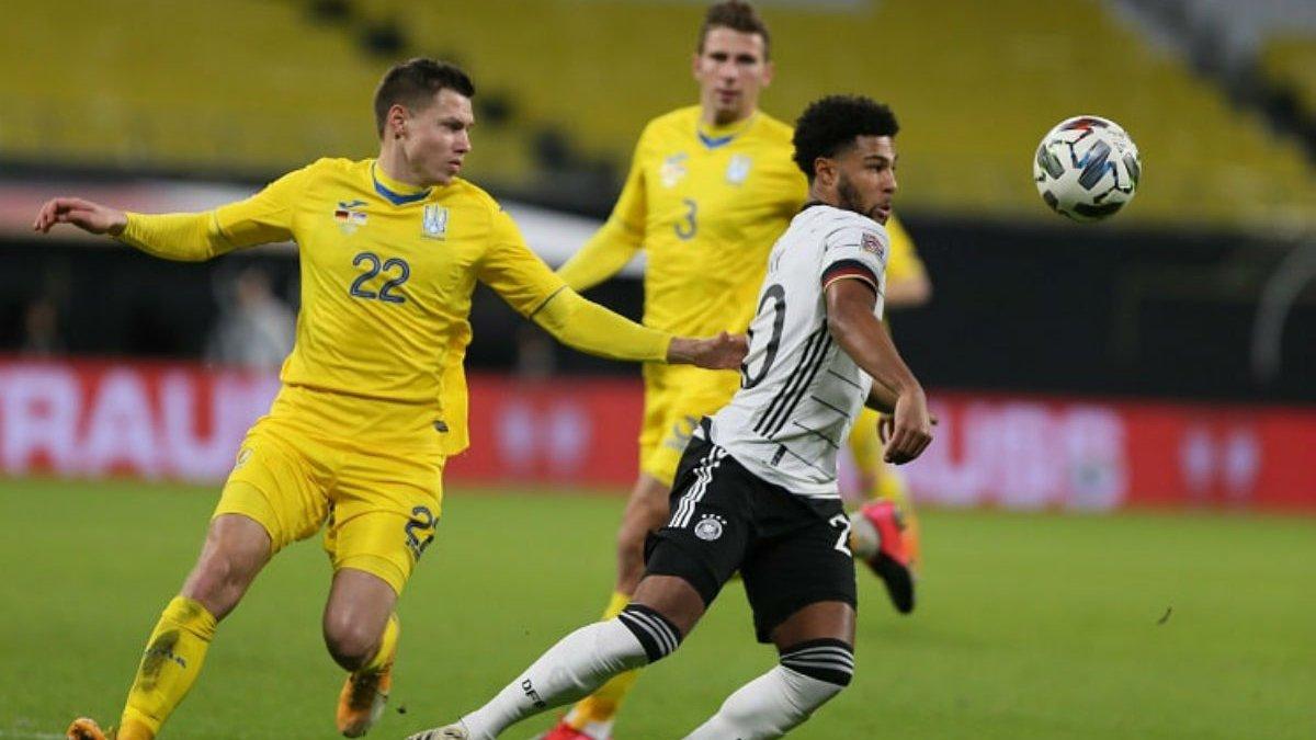 Главные новости футбола 14 ноября: Украина проиграла Германии и сыграет матч за жизнь, наказание для Динамо и Шахтера