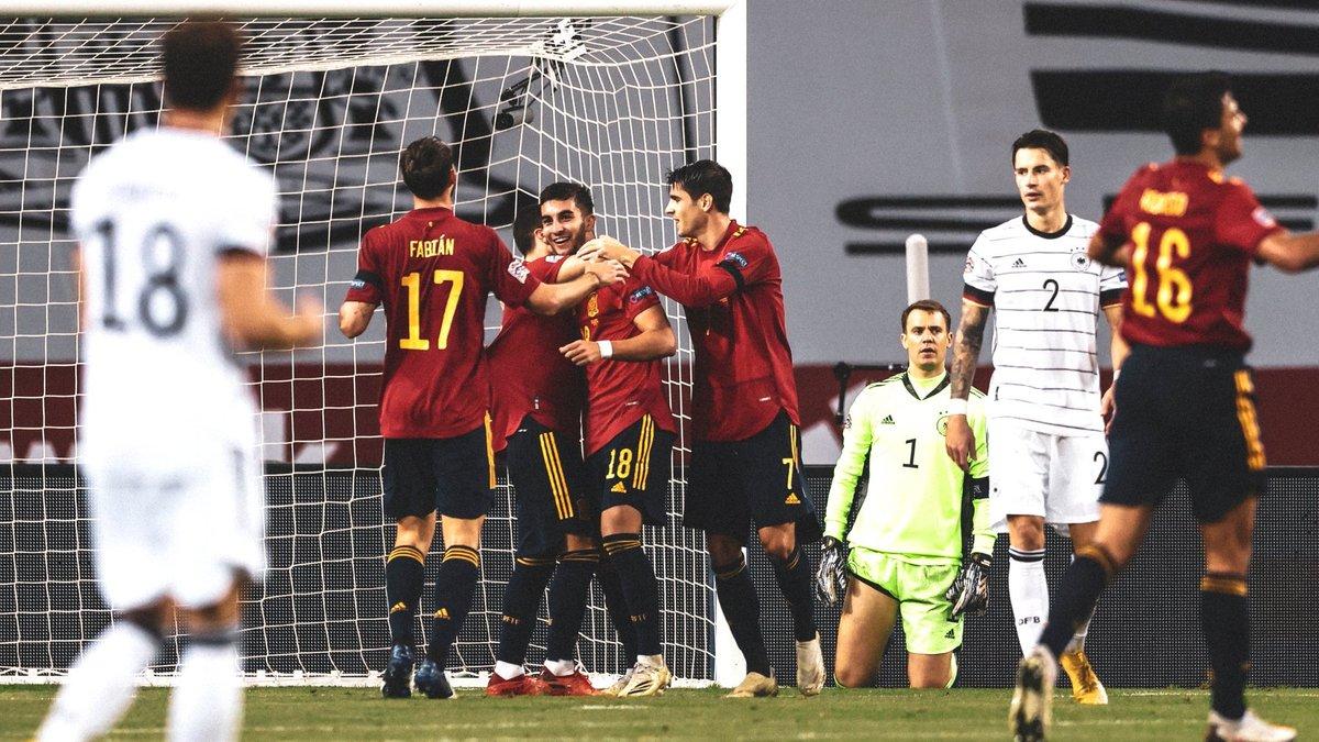 Испания – Германия – 6:0 – видео голов и обзор матча