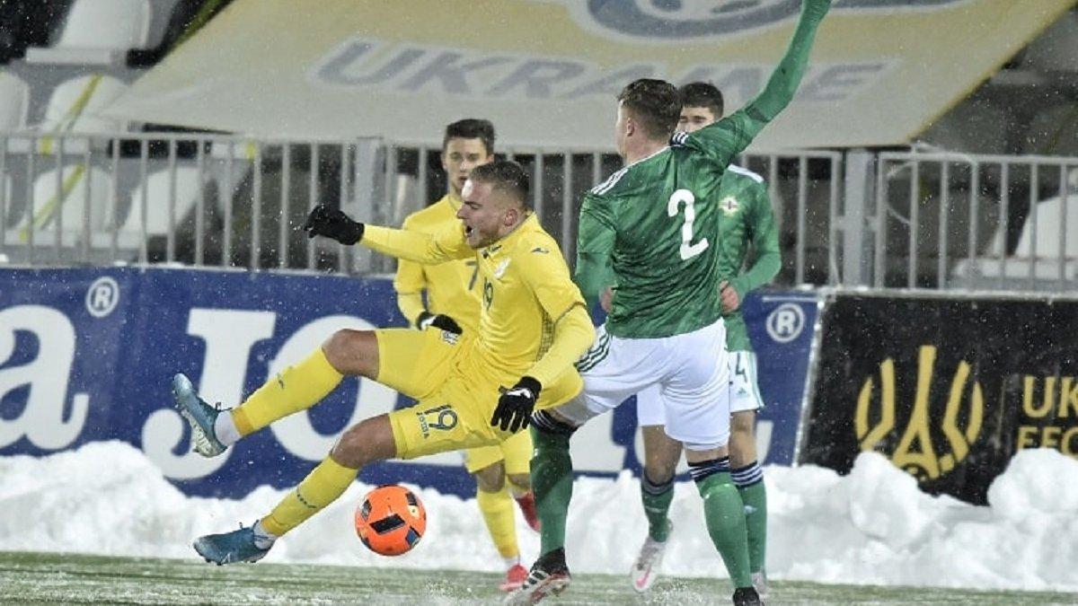 Пірровий розгром Ротаня у відеоогляді матчу Україна U-21 – Північна Ірландія U-21