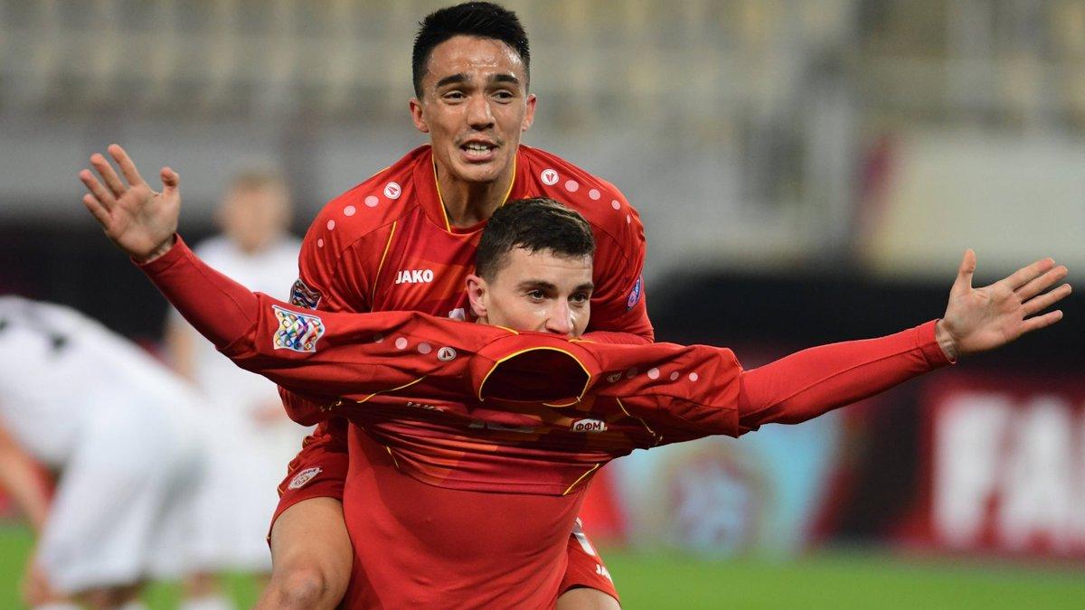 Новая победа Северной Македонии в видеообзоре матча соперника сборной Украины против Эстонии