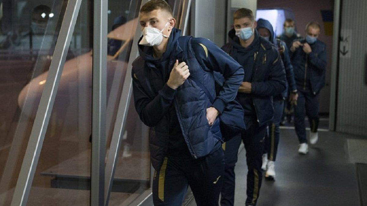 Збірна України отримала результати тестування на COVID-19 після гри з Німеччиною