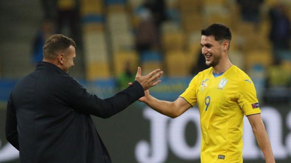 Яремчук догнал Леоненко и Алиева по количеству голов в сборной Украины