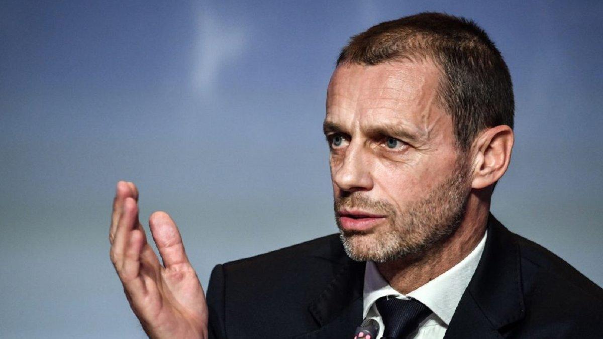 """""""Популістська та політична ідея"""": Чеферін різко засудив створення європейської Суперліги"""
