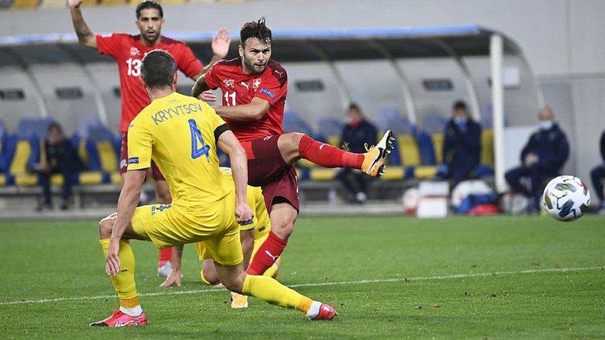 Швейцария – Украина: прогноз на матч Лиги наций