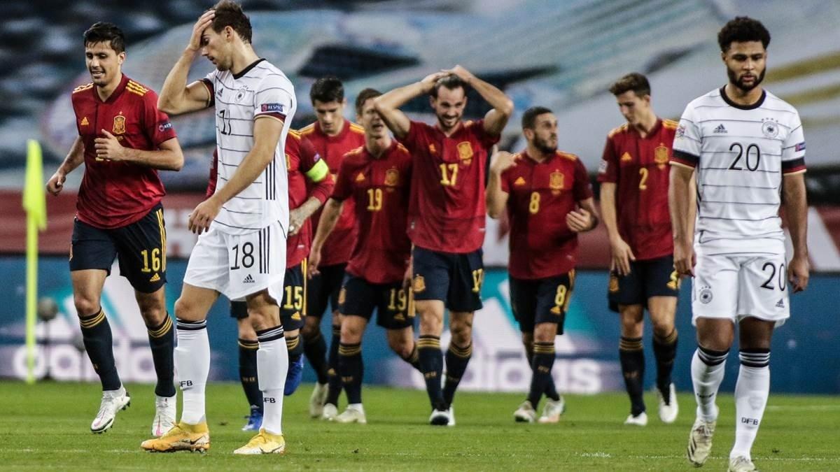 Іспанія зґвалтувала Німеччину, забивши 6 голів: найбільше фіаско Бундестім в історії, крах Льова та зірковий час Торреса