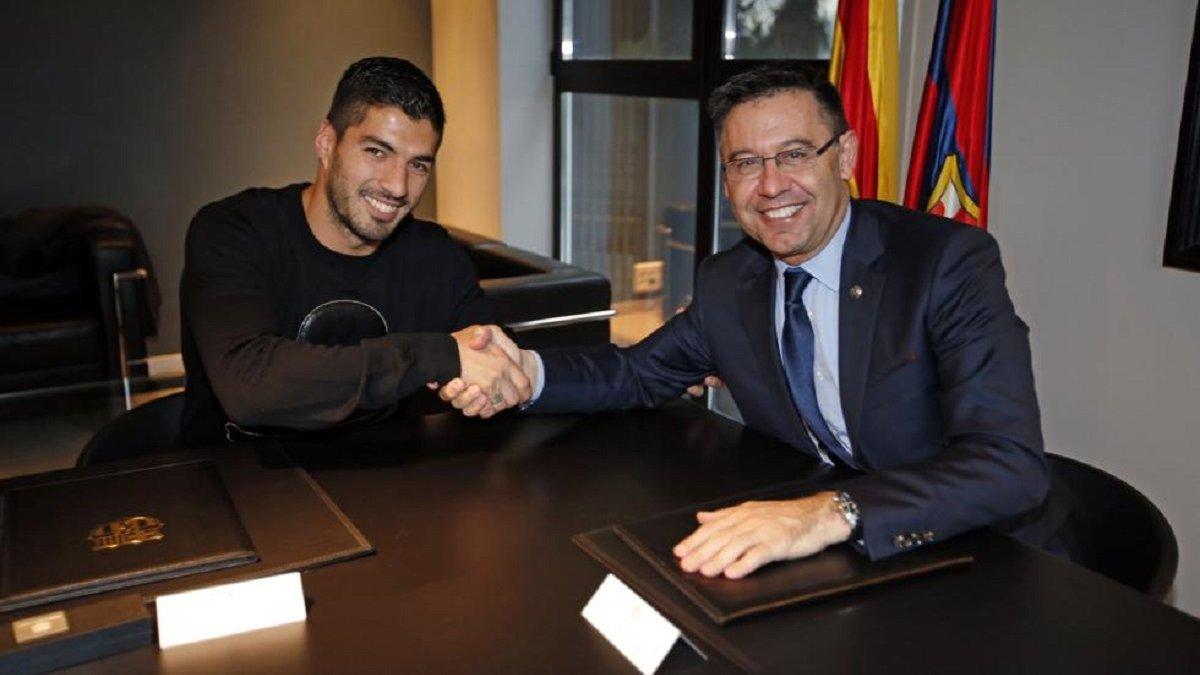 Суарес просил у Барселоны солидный контракт перед своим переходом в Атлетико