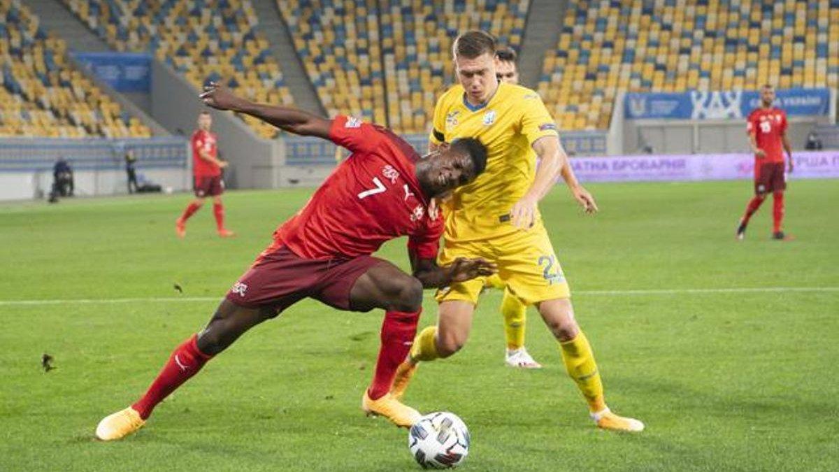 Швейцария – Украина: УАФ подаст протест, если матч Лиги наций не сыграют, – СМИ