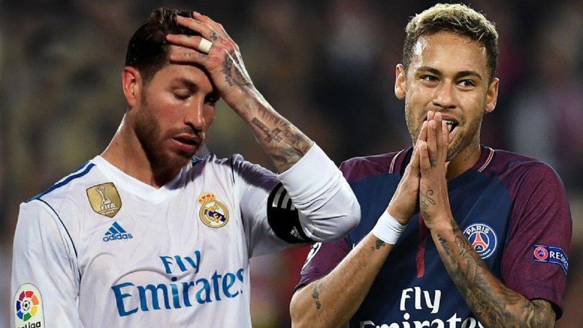 Неймар особисто вмовляє Рамоса перейти в ПСЖ і вже дав капітану Реала амбітну обіцянку